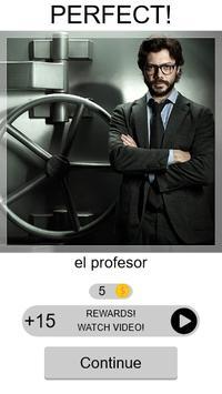 Quiz La Casa de Papel screenshot 1