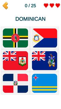 Flags of all continents screenshot 4