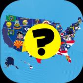 US States - American Quiz icon