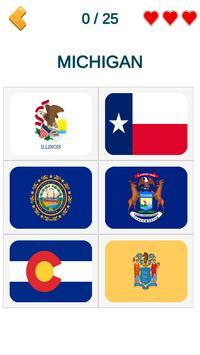 US States - American Quiz screenshot 4