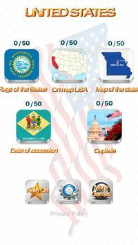 US States - American Quiz poster