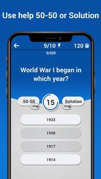 General Knowledge Trivia Game - Online Quizzes screenshot 2