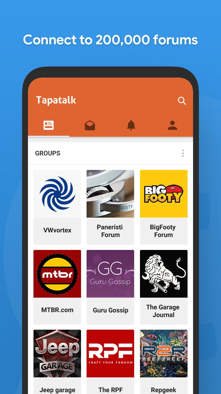 Tapatalk for Android - APK Download