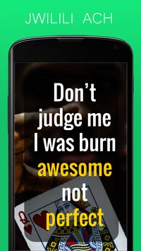 Don't Judge Me Quotes - Quotes apps screenshot 3