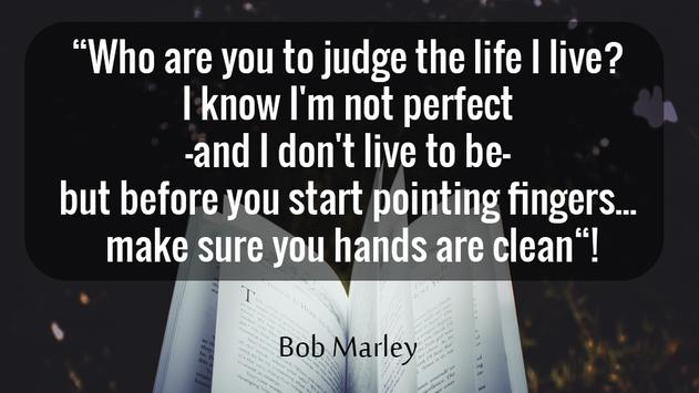 Don't Judge Me Quotes - Quotes apps screenshot 4