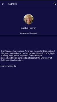 Cynthia Kenyon Quotes poster