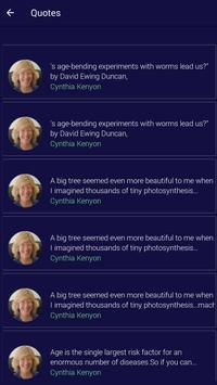 Cynthia Kenyon Quotes screenshot 3