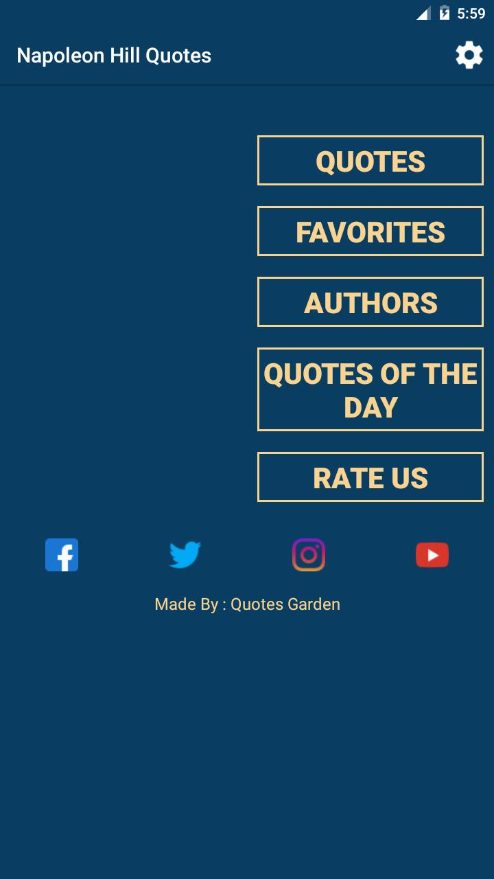 Napoleon Hill Quotes For Android Apk Download