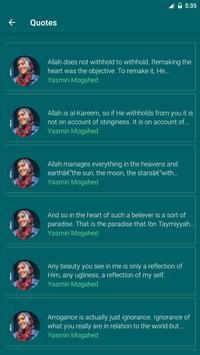 Yasmin Mogahed Quotes - Daily Quotes screenshot 1