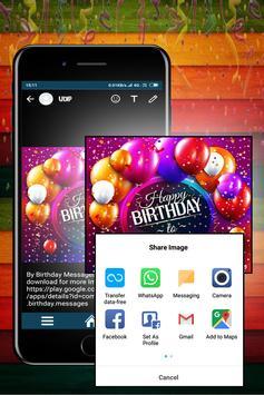 Birthday Messages screenshot 5