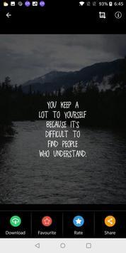 Motivational Wallpapers Quotes screenshot 1