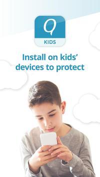 Kids App Qustodio الملصق