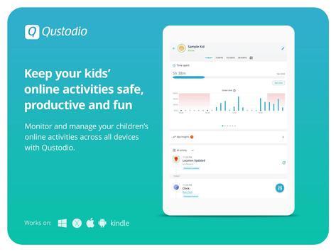 Kids App Qustodio تصوير الشاشة 3