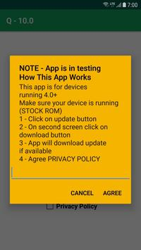 Q Update 10.0 for Android™ screenshot 3