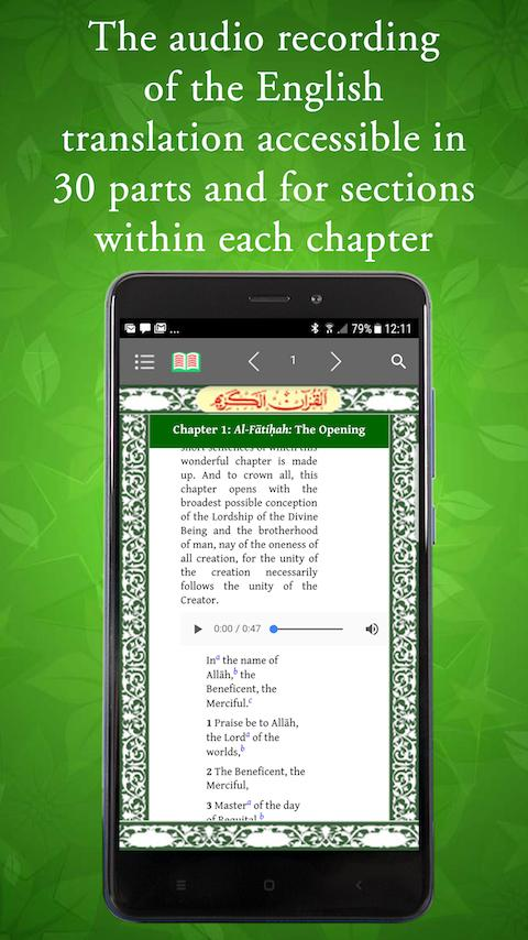 THE HOLY QURAN For Phone By Maulana Muhammad Ali for Android - APK