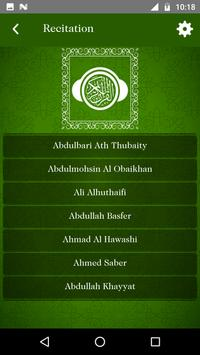 Full Quran MP3 - 50+ Audio Translation & Languages screenshot 2