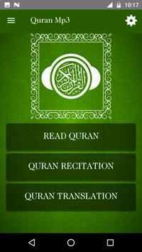 Full Quran MP3 - 50+ Audio Translation & Languages screenshot 4