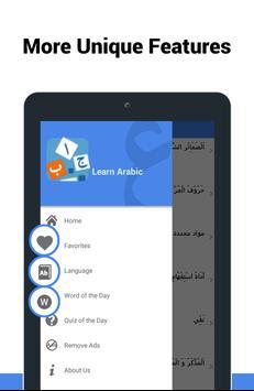 Learn Arabic screenshot 17