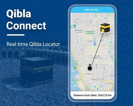 Qibla Connect® Cartaz