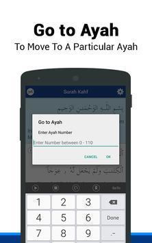 Surah Al-Kahf capture d'écran 4