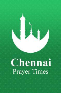 Chennai Prayer Times poster