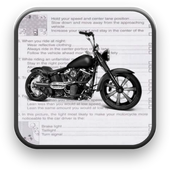 California Motorcycle Permit icon