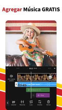 Editor de Videos con Musica - VivaVideo captura de pantalla 2