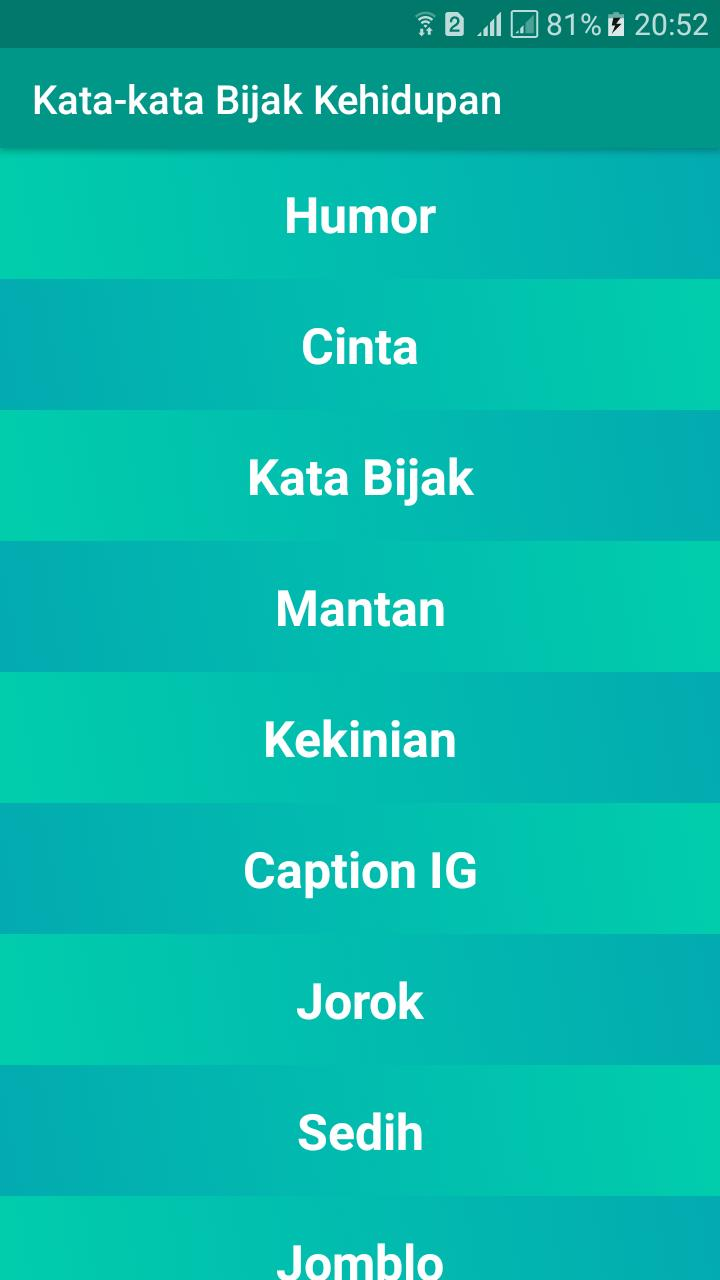 Kata Kata Bijak Kehidupan 2020 For Android APK Download