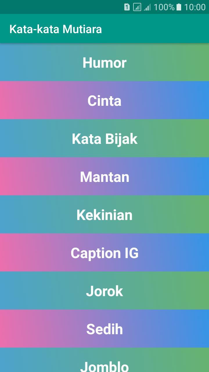 Kata Kata Mutiara Kehidupan 2019 For Android Apk Download
