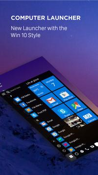 Computer launcher PRO 2019 for Win 10 themes 海报
