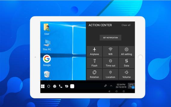Computer launcher PRO 2019 for Win 10 themes Screenshot 6