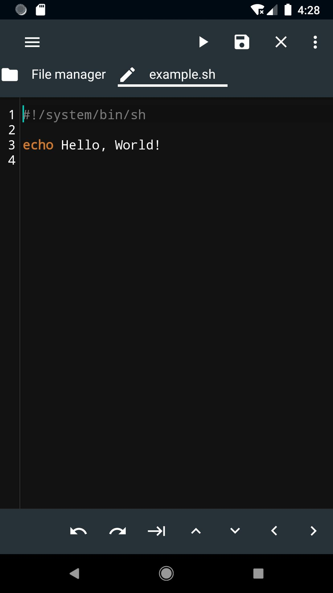 bash script download file filezilla