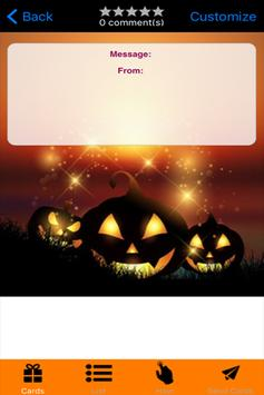 Halloween Greeting Card screenshot 2