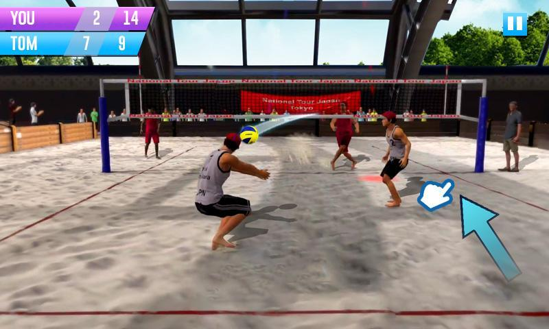 Spiked Ball 3D - volleyball games for Android - APK Download