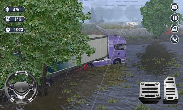 Heavy Truck Driver Transport Cargo 3D screenshot 1
