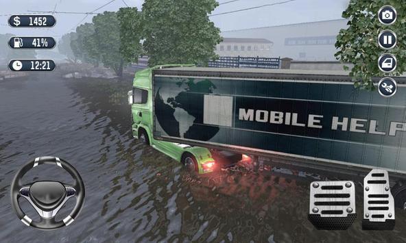 Heavy Truck Driver Transport Cargo 3D screenshot 2