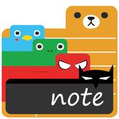 Cute Note - DDay Todo icon