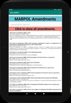 Know MARPOL 포스터