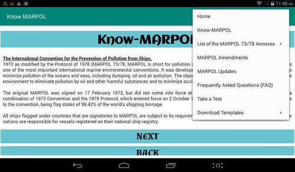 Know MARPOL 스크린샷 5