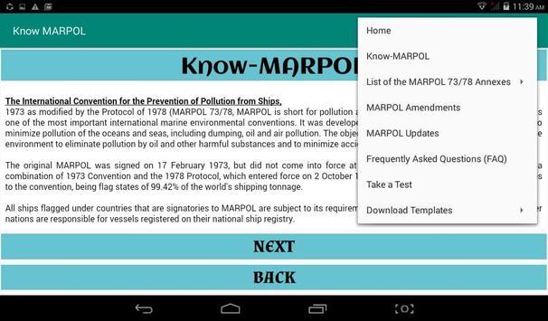Know MARPOL 스크린샷 8