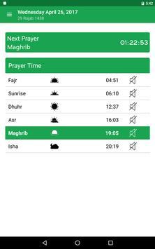 Muslim Prayer Times & Qibla Compass screenshot 14