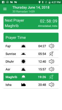 Muslim Prayer Times & Qibla Compass screenshot 2