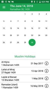 Muslim Prayer Times & Qibla Compass screenshot 6