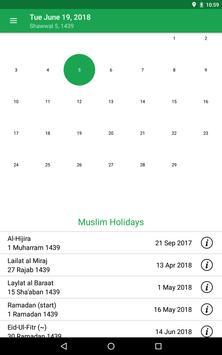 Muslim Prayer Times & Qibla Compass screenshot 8