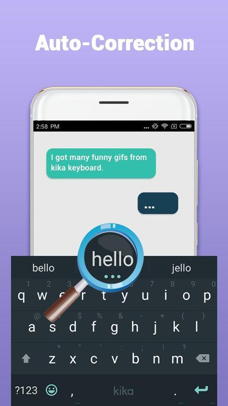 Kika Teclado - Emoji, GIFs imagem de tela 2
