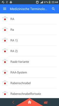 Medizinische Terminologie Screenshot 1