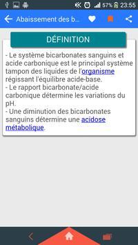 Terminologie médicale capture d'écran 2