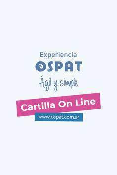 Cartilla OSPAT poster