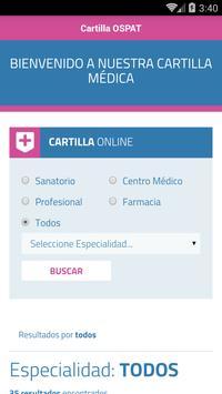 Cartilla OSPAT screenshot 1