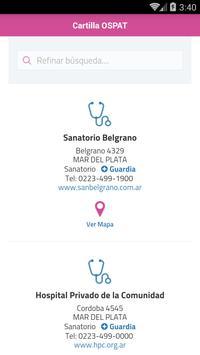 Cartilla OSPAT screenshot 2